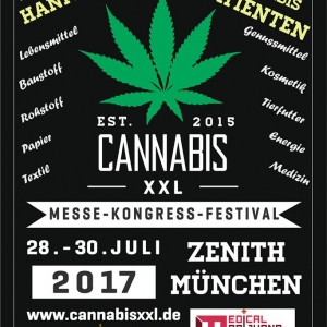 Cannabis XXL Hanfmesse, Munich, Germany, 28 - 30 July 2017