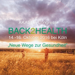 AKASHA Congress BACK2HEALTH, Oct 2016, Bergheim/Erft, Germany
