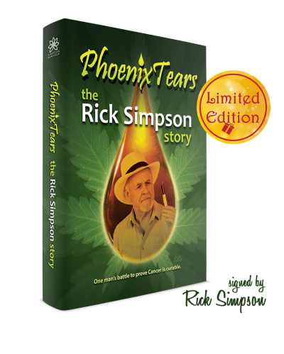 Limited Edition – The Rick Simpson Story signed by Rick