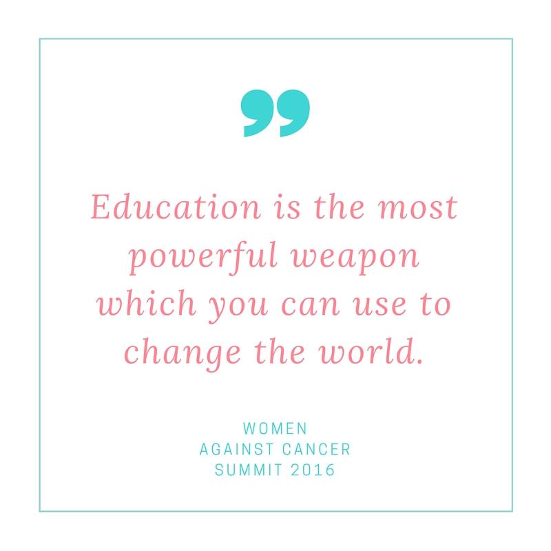 Women Against Cancer Summit 2016
