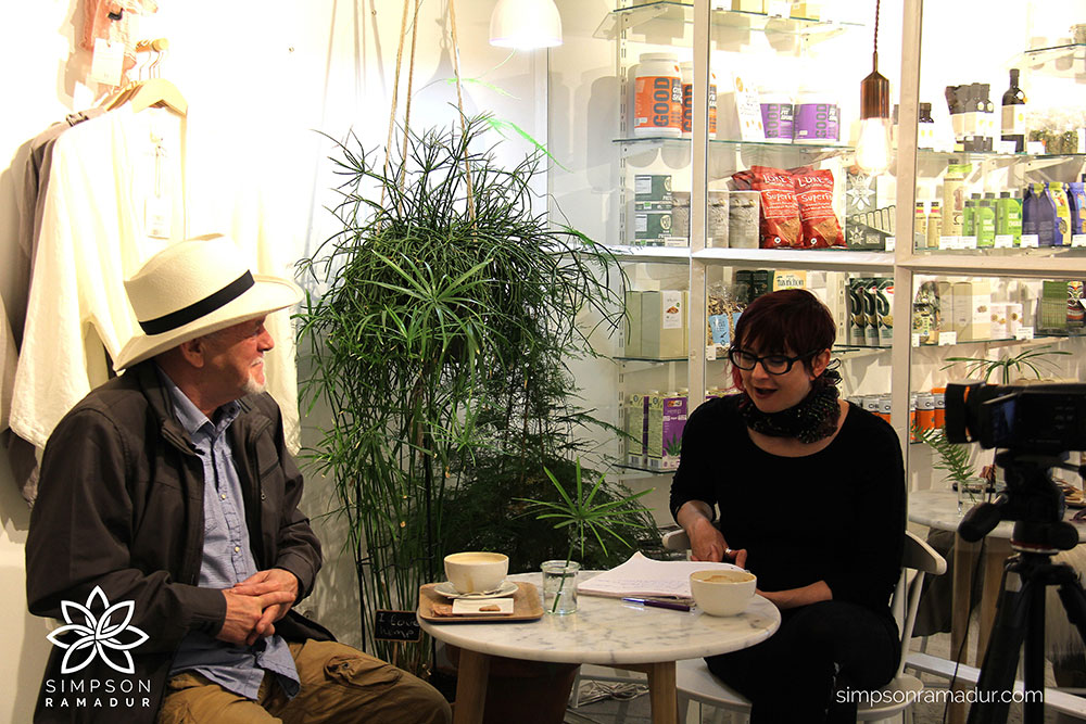 Sensi Seeds interview with Rick Simpson in Amsterdam, Jun 2016